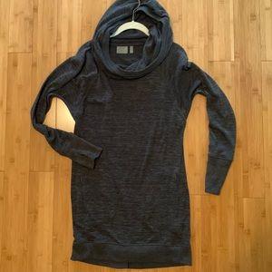 Athleta hooded sweatshirt dress